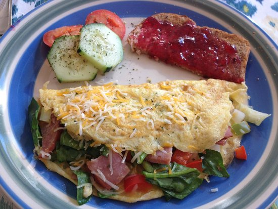 Saddle Ridge Bed and Breakfast : Delicious breakfast!