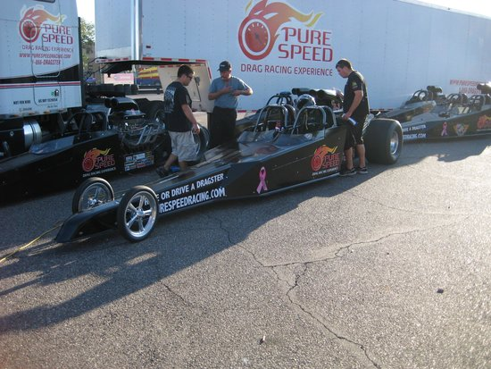 The 2 seat dragster - Picture of Pure Speed Drag Racing Experience