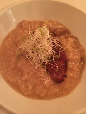 Bistro Karlo: That's my favorite Risotto.  I can't say a word after having this!