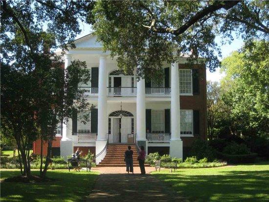 Rosalie Mansion: side of house