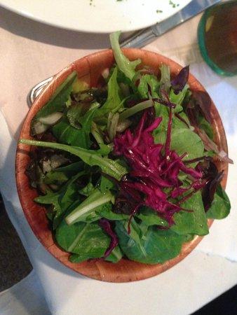 Zum Rheingarten: House salad