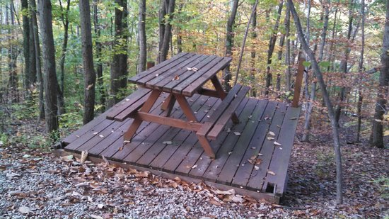 Wondrous Anniversary Cabin Outdoor Picnic Table Picture Of Hocking Download Free Architecture Designs Boapuretrmadebymaigaardcom