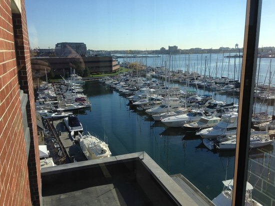 Residence Inn Boston Harbor on Tudor Wharf: View from the room