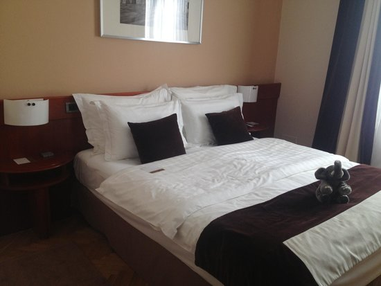 BEST WESTERN Premier Hotel Slon : letto
