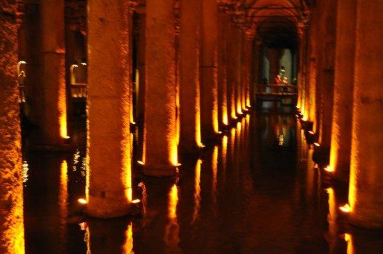 Inside of Basilica Cistern - ...