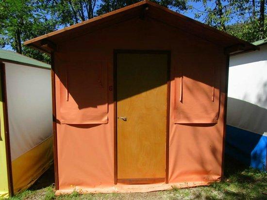 "Camping La Sfinge : Outside the ""tent"""