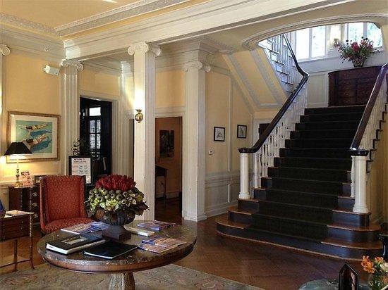 J.H. Adams Inn: JHA entry area