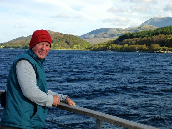 Crannog Cruises: Even the hardy Scot was freezing