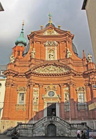 Neumünster Kirche: Outside of the church