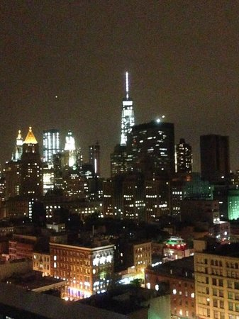 Rooftop View Of New World Trade Center Picture Of Wyndham Garden Chinatown New York City Tripadvisor