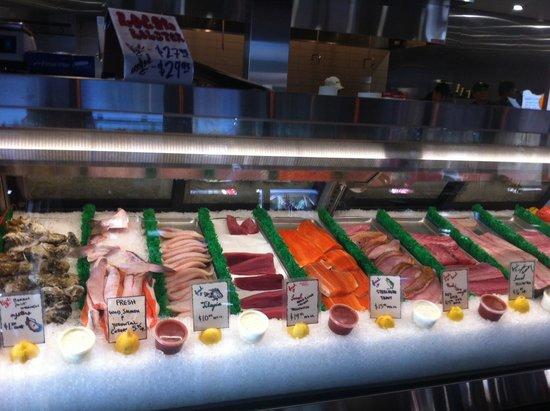 El Pescador Fish Market: Fresh seagood ;))