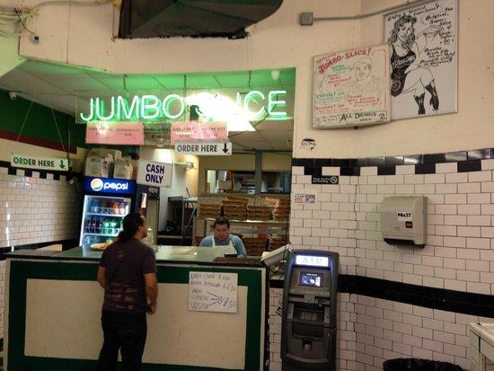 Photo of Italian Restaurant Jumbo Slice Pizza at 2341 18th St Nw, Washington DC, DC 20009, United States