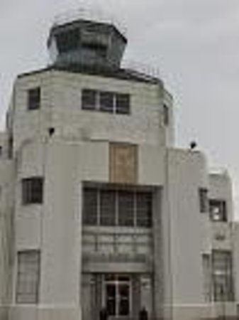 Close up of art deco - Picture of 1940 Air Terminal Museum, Houston ...