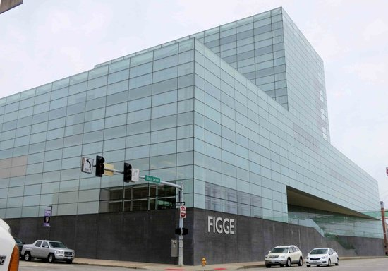 Figge Art Museum - Riverfront facade