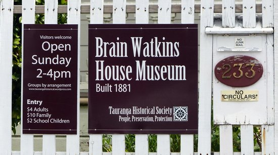 Brain Watkins House & Museum