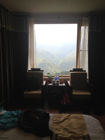 Sapa Lodge Hotel: Room With a view