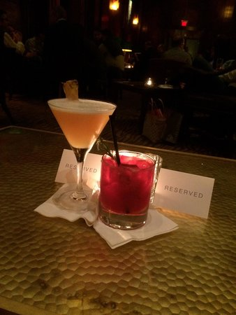 Redwood Room : Pineapple Express and a Razz-Mary. Quite nice!