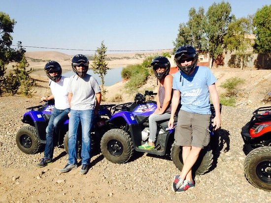 Tasnime Quad Marrakech : le barrage on y est!