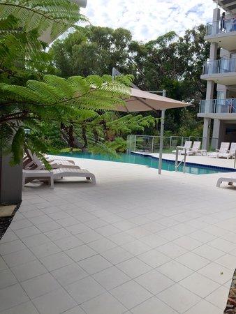 Rainbow Ocean Palms Resort: Pool area