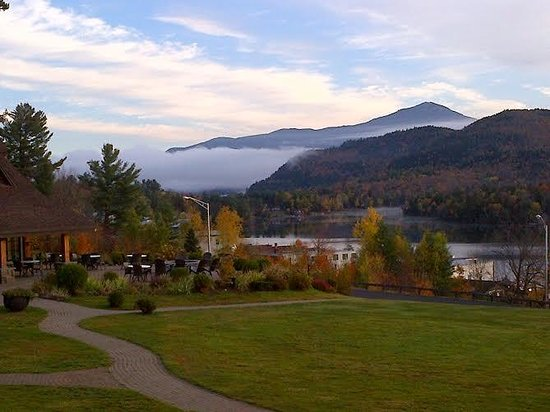 Crowne Plaza Lake Placid: view from room