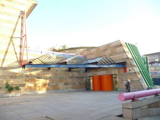 Galería estatal de Stuttgart (Staatsgalerie): Arquitetura Predio Novo