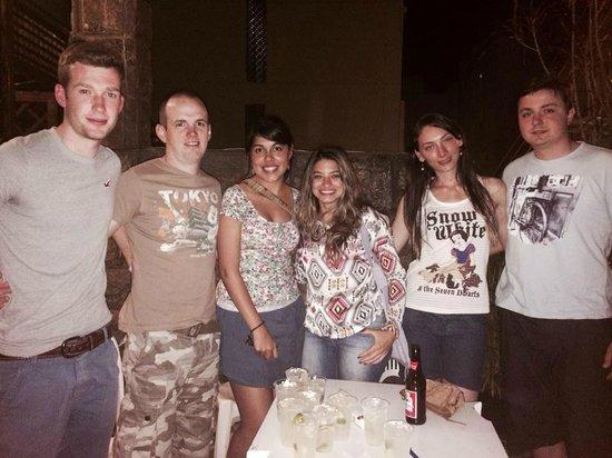 CabanaCopa Hostel : Amigos que conocí en Cabana Copa!