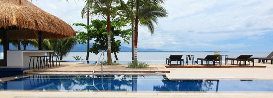 Tagum City, Filipiny: Banana Resort Poolside