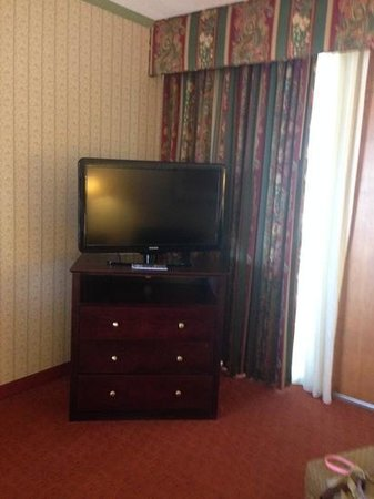 Crowne Plaza Pittsfield: tv