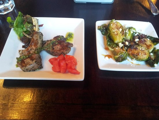 Gervais & Vine: Lamb and Roasted Brussle Sprouts