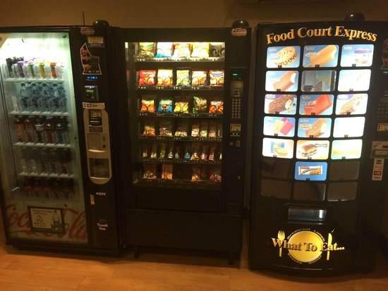 Hampton Inn Nanuet: vending
