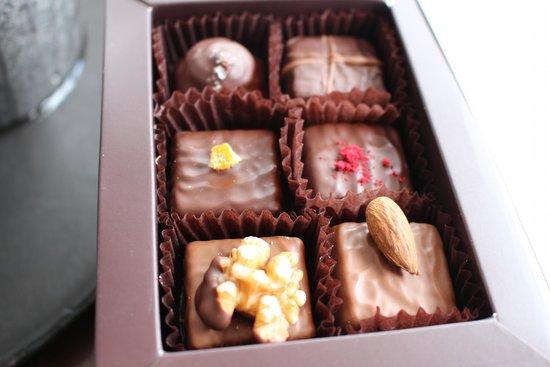 Duke of Marlborough Hotel: Newport Chocolates