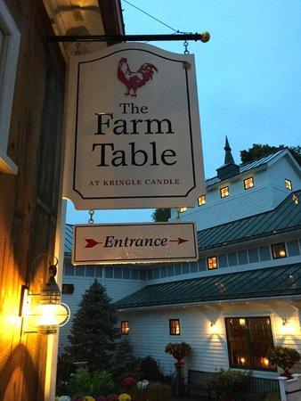 Farm Table Sign Picture Of The Farm Table Bernardston TripAdvisor - Farm table bernardston