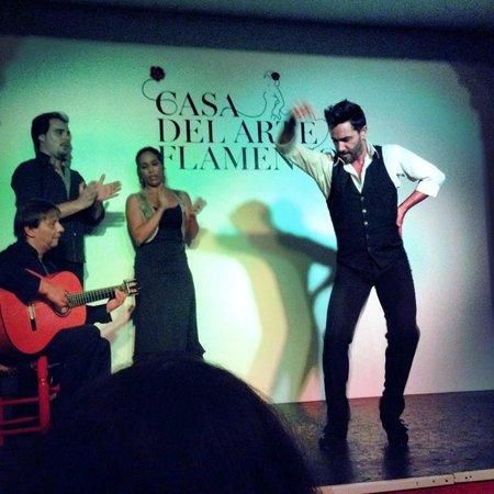 Casa del Arte Flamenco: the guy