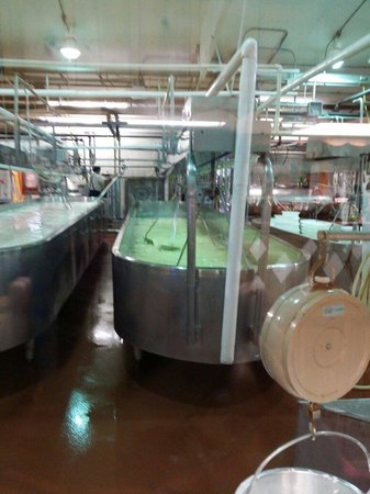 Heini's Cheese Chalet: Free tour of how they make their cheese.