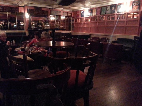 Seating Area at the Munster Bar