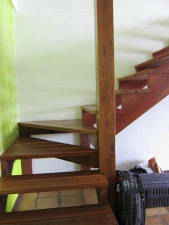True Blue Bay Boutique Resort: stairs