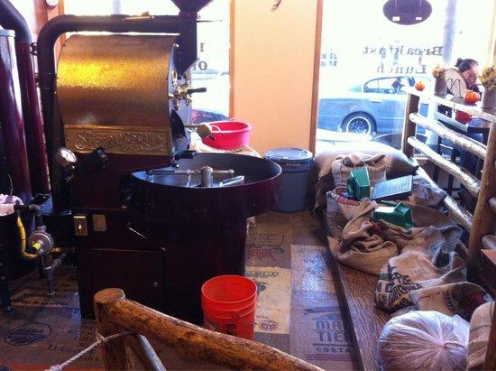 Jackson Hole Roasters: Inside store