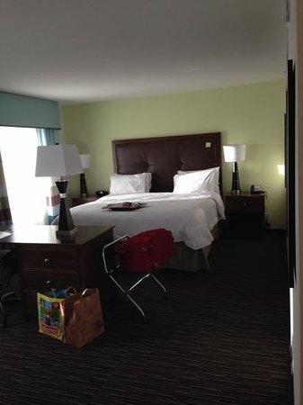 Hampton Inn & Suites Minneapolis / West-Minnetonka : spacious, bright, comfortable