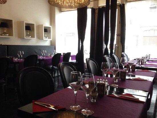 Saveurs De L'Inde : Salle de restaurant