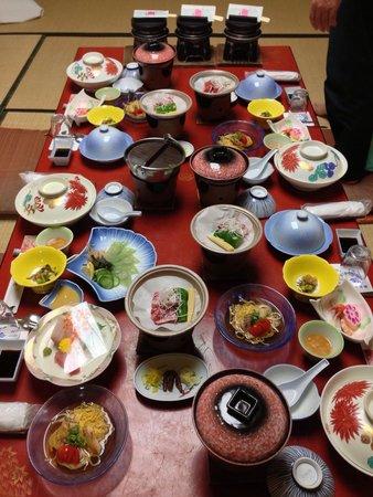 Hotel Kowakuen : 夕飯
