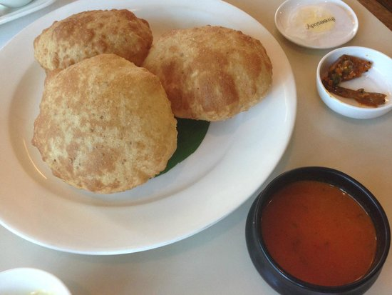 Threesixty Degrees: Indian breakfast.  If you don't know what to order, just ask them!