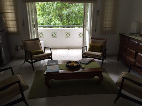 Footprint Bed & Breakfast: Sitting area 3B Apartment