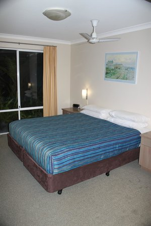 Broadwater Beach Resort Busselton: Master bedroom
