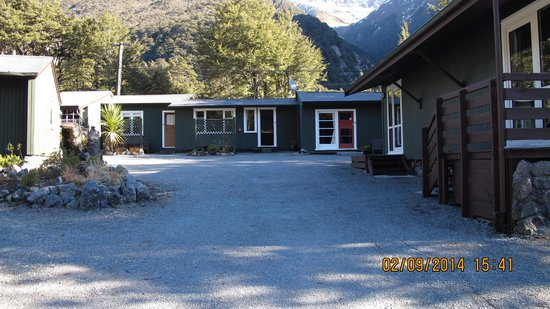 Arthur's Pass Alpine Motel: Other room away from the road.
