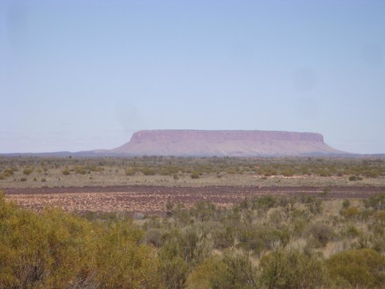 Northern Territory, Australia: Mount Conner on the way Ayres Rock/Uluru