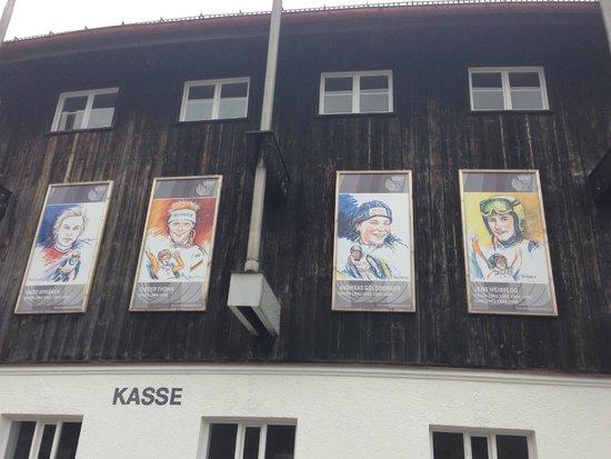Olympiaschanze: fotos der sieger