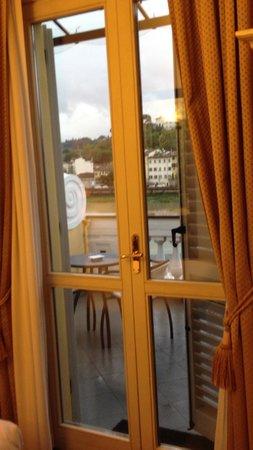 Hotel River : アルノ川の眺め