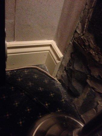 Hotel Louisbourg: Moquette sale