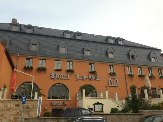 Hotel Lay-Haus: Hotel outside