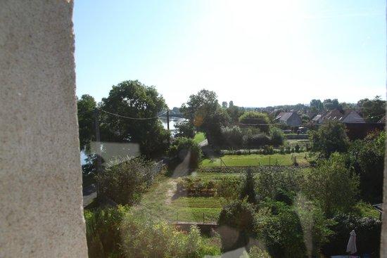 Le Moulin du Port: Vue côté jardin